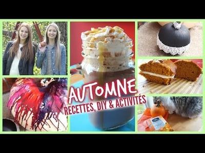AUTOMNE | recettes, DIY & activités!
