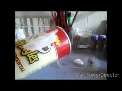 D.I.Y : Customiser une boîte de Pringles