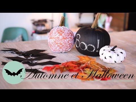 DIY d'Halloween - 5 décorations d'automne - Ismérie Anglade