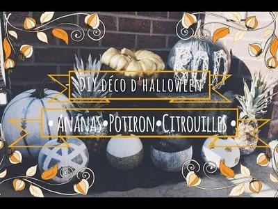 - DIY Déco D'Halloween -   *Ananas*Potiron&Citrouilles*