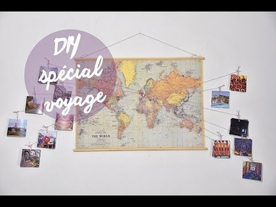 DIY DÉCO VOYAGE : TRAVEL MAP