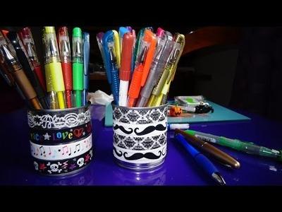 [ DIY ] Faire un pot à crayon à l'aide d' une boîte de conserve