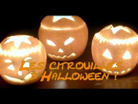 ✝  DiY Halloween - mini Citrouilles & fantômes