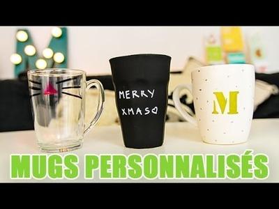 3 idées de MUG personnalisés à offrir à NOEL - DIY youMAKEfashion