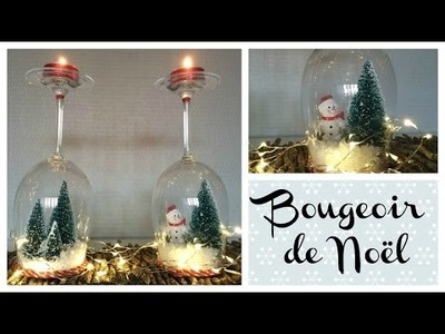 DIY Bougeoir de Noël