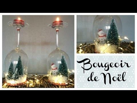 DIY Bougeoir de Noël