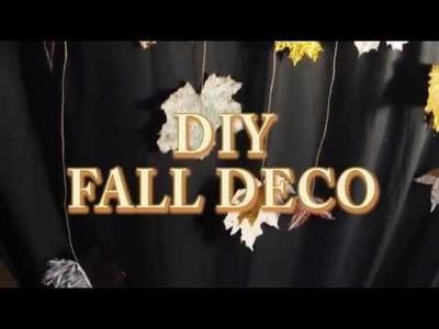 DIY Décorations d'automne rapides - FALL DECO DIY