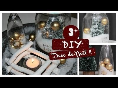 ✿ DIY FRANCAIS ✿ 3 Déco de Noel moins de 5€ ( Chambre . )