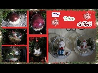 ❄[DIY N°2] Déco boules sapin de Noël (simple et facile)