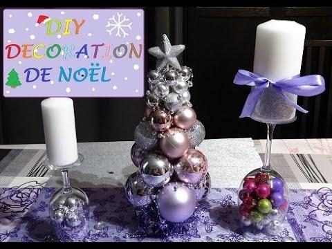 DIY NOEL. CHRISTMAS DIY 4 idées de décoration RAPIDE ET PAS CHER!