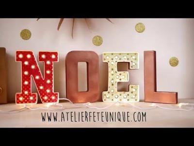 DIY : Un Noël Lumineux