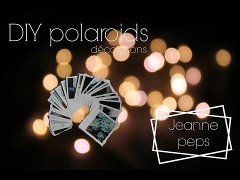 - DIY - Une déco murale avec des polaroids || Jeanne.peps
