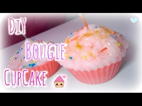 ✁ DIY  - Bougie CupCake ♡