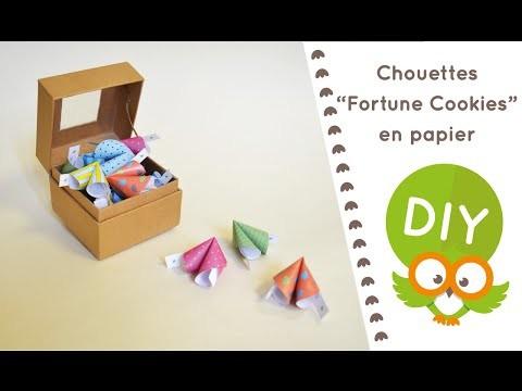 DIY Eclair #1 - Réalise tes Fortune Cookies en Papier !
