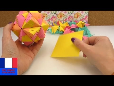 Etoile Origami DIY 30 pièces | BALLE SONOBE | Origami détente et décoration | DIY star