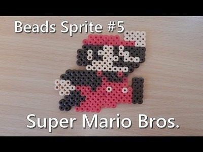 Pixel Art Perler Bead Sprite : Super Mario Bros. (DIY)