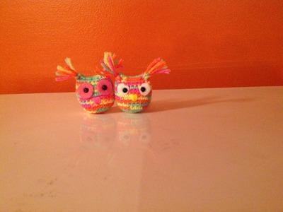 Bùho a crochet - crochet Owl