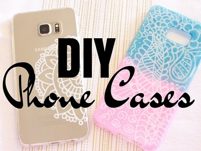 DIY Customisez vos Coques Henna Style