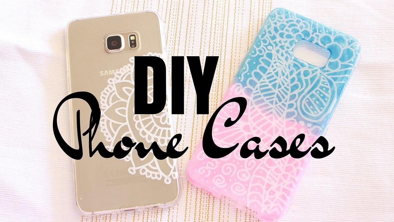 DIY Customisez vos Coques Henna Style