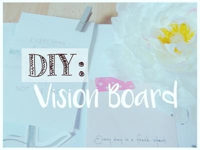 -DIY n°1- Vision Board