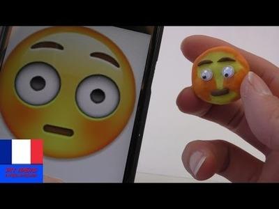 DIY Emoticône avec des yeux mobiles | Jolie petite gomme à faire soi-même | Smilie