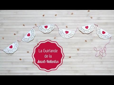 DIY Saint-Valentin ♡ La Guirlande de la Saint Valentin