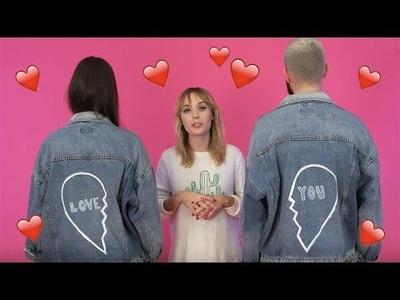 DIY spécial Saint Valentin : Comment customiser une veste en jean | Astrid | Insider ASOS