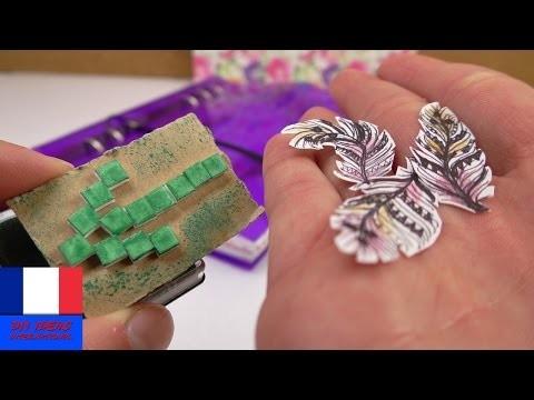 Filofax DIY | Autocollant plume et tampon pour faire son propre filofax | Deux idées géniales | DIY