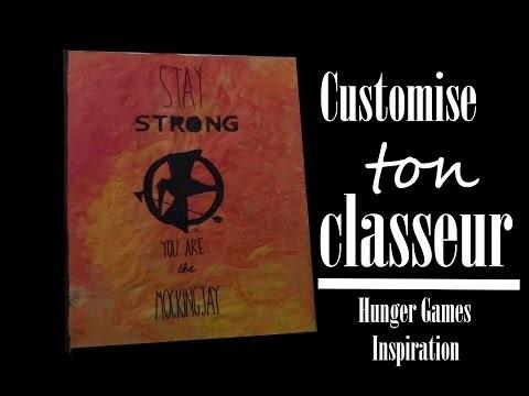 [DIY] Customiser son classeur | Hunger Games Inspiration