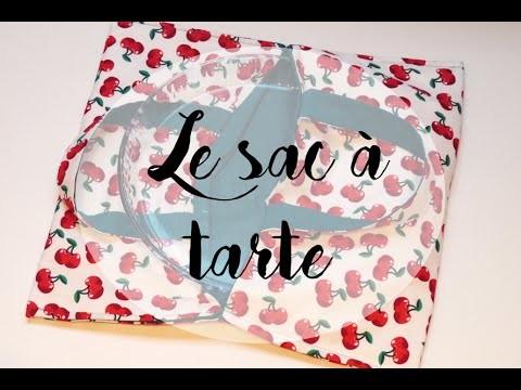 [TUTO JOUR DE PLUIE] Le sac à tarte DIY