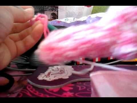 Chaussette au crochet partie 1  (1.3)