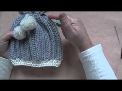 Comment faire un bonnet pour bébé au crochet