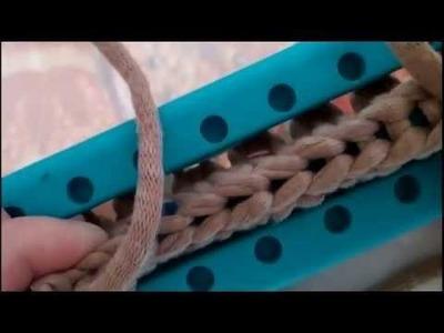 Paufiner le 1er rang d'une écharpe au crochet