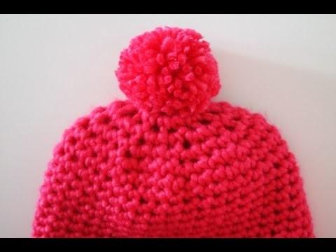 Tuto: bonnet simple au crochet