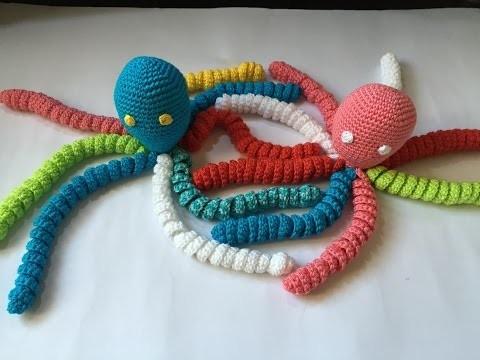 Tuto doudou pieuvre au crochet