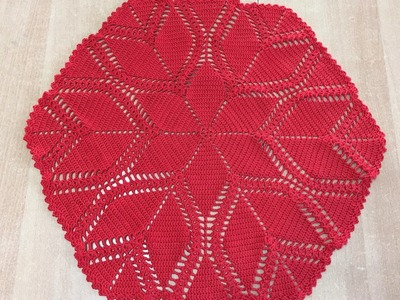 Tuto nappe ronde au crochet 2.2