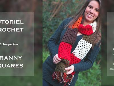 Tutoriel Crochet - L'Echarpe Aux Granny Squares