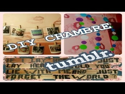 3 DIY chambre Tumblr  simple !