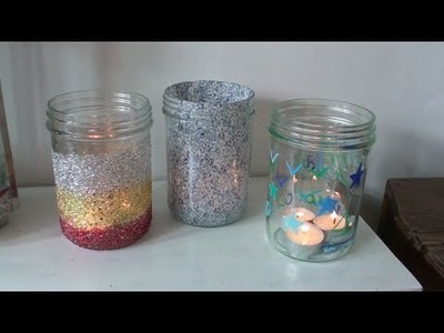 DIY Photophores inspiration Manson Jar