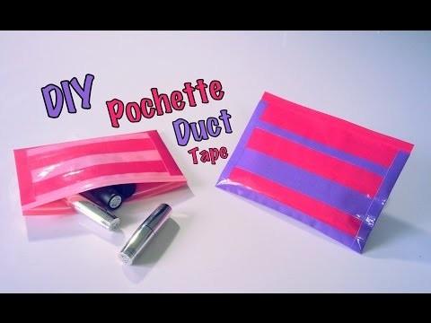 DIY Pochette avec ruban adhésif Duct Tape