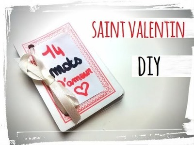 diy saint valentin menu. Black Bedroom Furniture Sets. Home Design Ideas