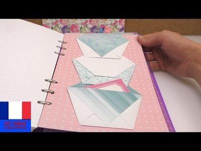 Fiche à pochettes DIY Filofax pour les petits papiers, scotch double face, fiche | Filofaxing