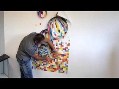 Aqua Paper : Papier peint intissé pré-encollé et lessivable