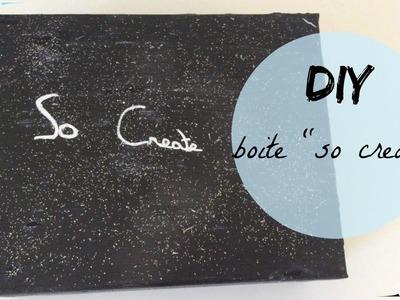 "☁️DIY - boîte ""so create""☁️"