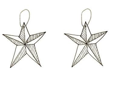 DIY - Guirlande d'étoiles