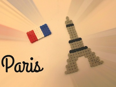 DIY : Tour Eiffel en perles HAMA. Eiffel Tower Perler Beads