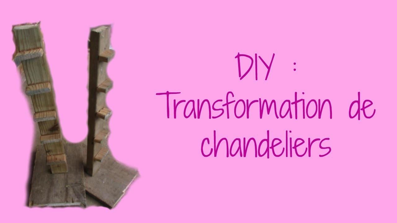 Diy : Transformation de chandeliers