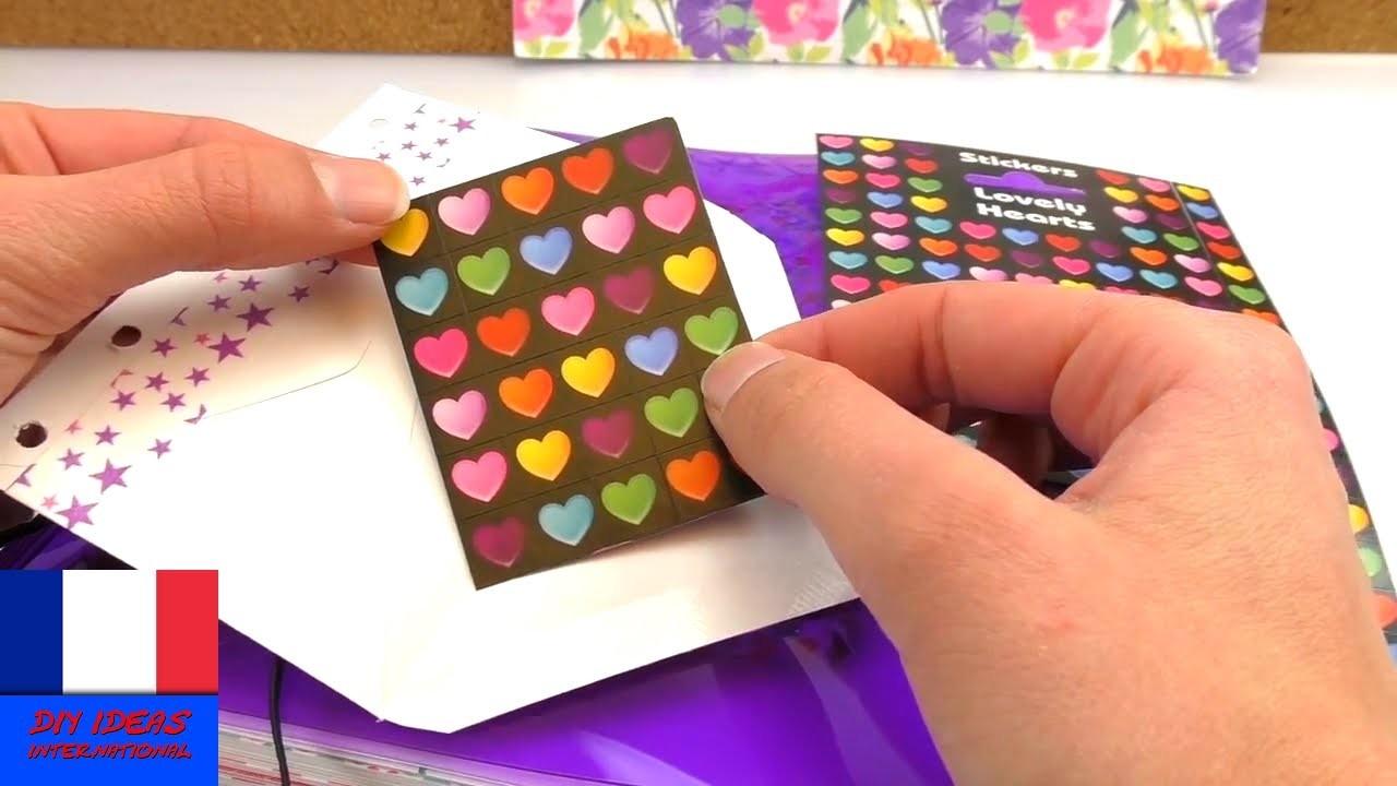2 minutes mini idée pour le Filofax | les supers idées DIY pour les petits livres, les organisateurs