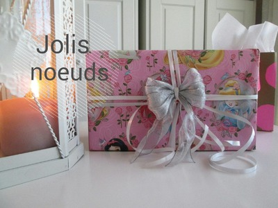 Comment faire de jolis noeuds facilement | DIY