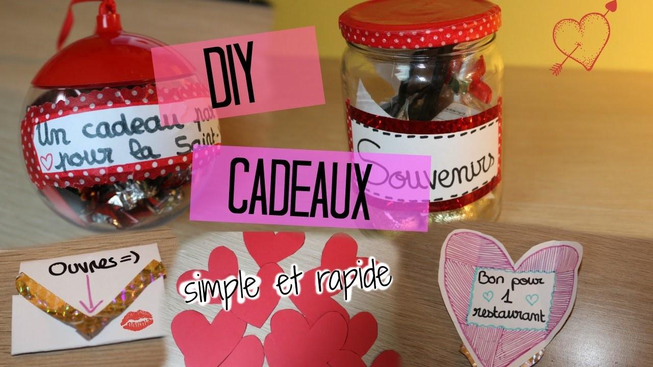 DIY cadeaux simple et rapide pour la Saint-Valentin ♥